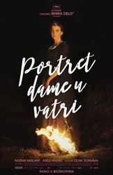 Portret devojke na vatri