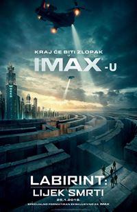 Labirint: Lijek smrti 3D IMAX