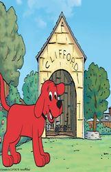 Veliki crveni pas Clifford - sink