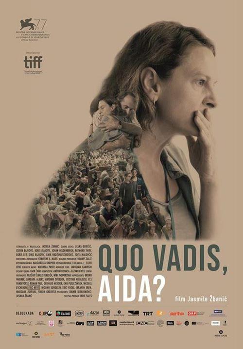 Ratna drama 'Quo Vadis, Aida?' u Hrvatskoj isključivo online